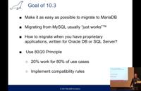 Meet MariaDB 10.3