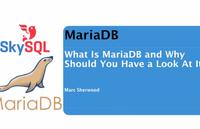 Short MariaDB Overview